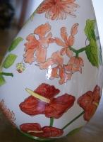 tucano e vaso
